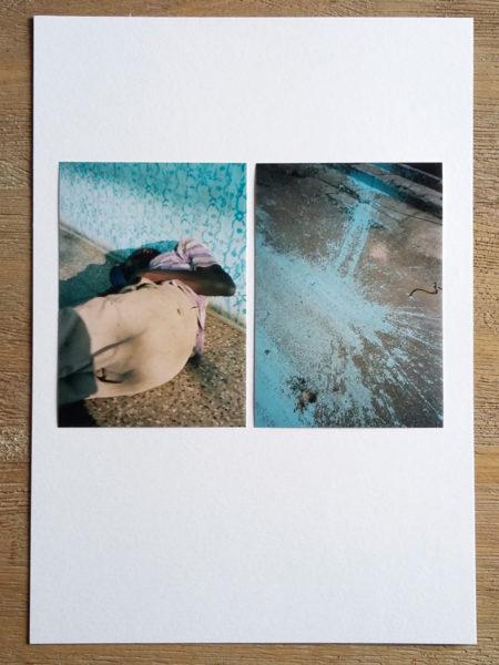 Duo #001, 2017, 2 c-prints 10/15 on paper, 21 X 30 cm - © Vincent Delbrouck