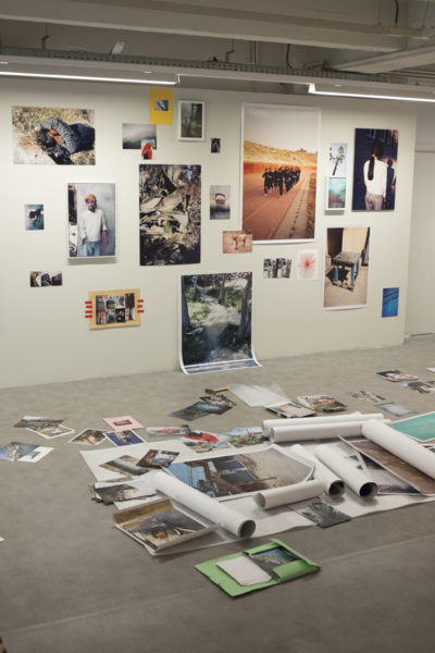 Dzogchen (installation process), FoMu, Antwerp, 2015 - © Vincent Delbrouck