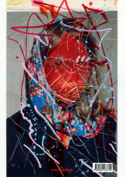 I hate Alice In Wonderland, 2015 - 2016, Mixed media and scratches on c-print, 18,3 X 30,5 cm - © Vincent Delbrouck