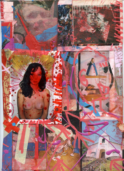 Carnet 2, 2006 - 2016, Mixed media on paper, 21 X 29,7 cm - © Vincent Delbrouck