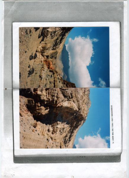 Only A Ripe Fruit Falls, 2012 - 2014, C-prints on color photocopy, 21 X 29,7 cm - © Vincent Delbrouck