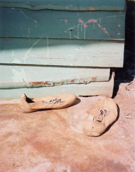 Chaussons, 2016, C-print, 56 X 74 cm, Edition of 3 + 2AP - © Vincent Delbrouck