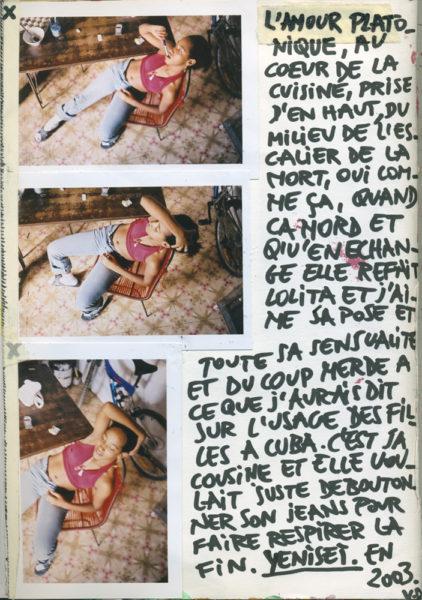 Lolita, 2003 - 2004, Mixed media on paper, 21 X 29,7 cm - © Vincent Delbrouck