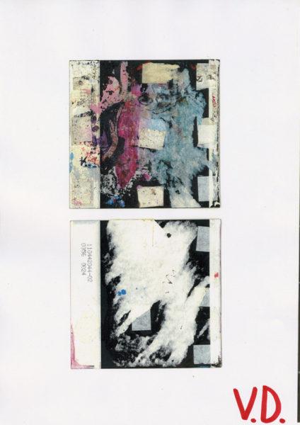 Backs, 2004 - 2006, Color photocopy, 21 X 29,7 cm - © Vincent Delbrouck