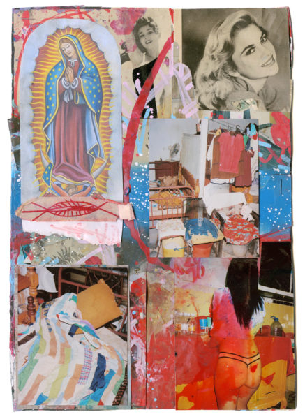 Guadalupe, 2015 - 2017, Mixed media on paper, 21 X 29,7 cm - © Vincent Delbrouck
