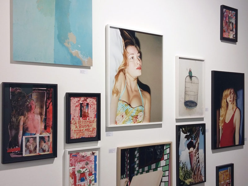 Stieglitz19 gallery's booth, Unseen Photo Fair, Amsterdam, 2016 - © Vincent Delbrouck