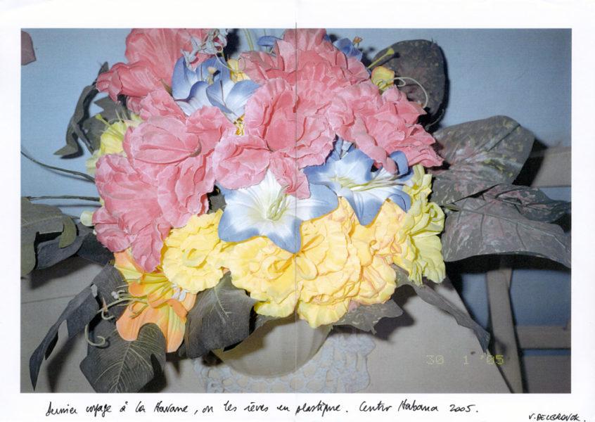 Plastic Flowers, 2005, Original Color Photocopy, A3 - © Vincent Delbrouck