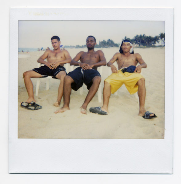 Los Machos, 2004, Polaroid - © Vincent Delbrouck