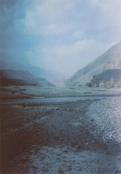 Kali Gandaki River, 2010, Inkjet print, 21 X 30 cm, Edition of 5 + 2AP - © Vincent Delbrouck
